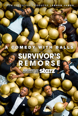Survivors Remorse season 2 poster STARZ channel
