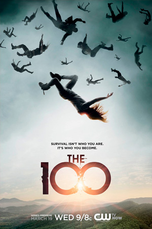 The 100 season 1 poster The CW channel