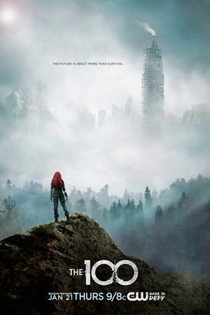 The 100 season 3 poster The CW channel