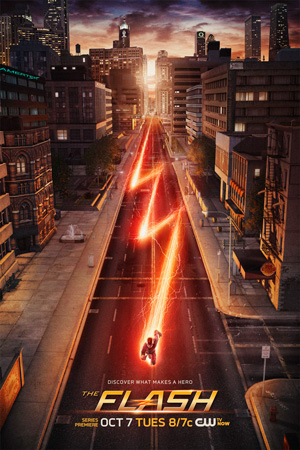 The Flash season 1 poster The CW channel