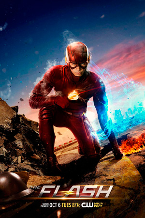 The Flash season 2 poster The CW channel