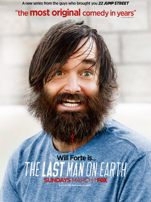 The Last Man On Earth season 1 poster FOX channel