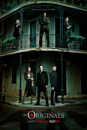 The Originals season 3 poster The CW channel