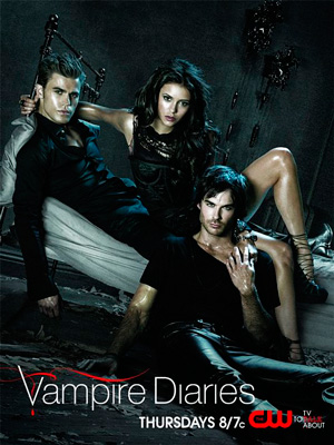 The Vampire Diaries season 2 poster The CW channel