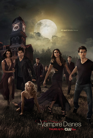 The Vampire Diaries season 6 poster The CW channel