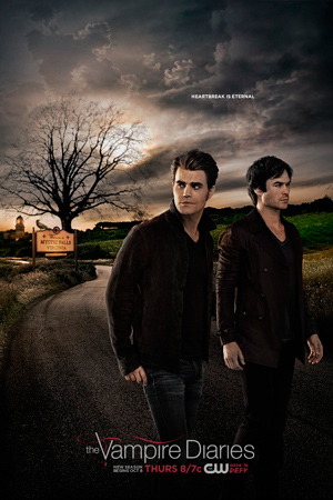The Vampire Diaries season 7 poster The CW channel