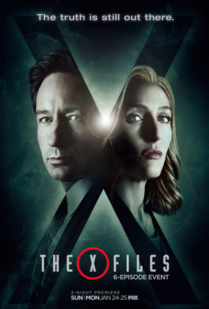 The X-files poster season 10 FOX channel