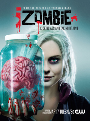 iZombie season 1 poster The CW channel