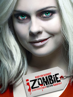 iZombie season 2 poster The CW channel