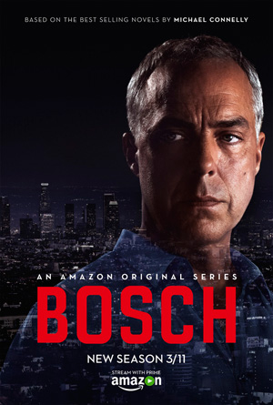 Bosch season 2 poster Amazon channel