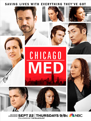 Chicago Med season 2 poster NBC channel