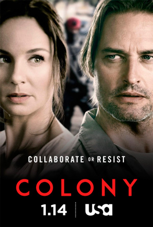 Colony season 1 poster USA Network channel