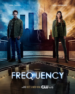 Frequency season 1 key art The CW channel