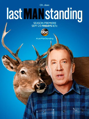 Last Man Standing season 6 poster ABC channel