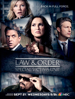 Law & Order: Special Victims Unit season 18 poster NBC channel