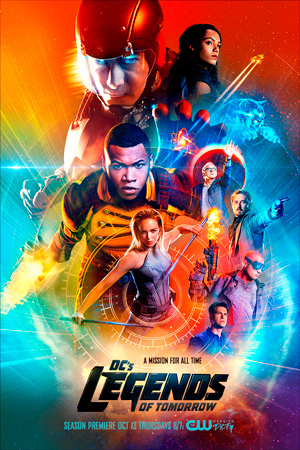 Legends of Tomorrow season 2 poster The CW channel