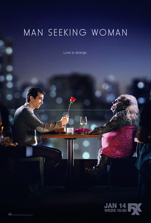 Man Seeking Woman season 1 poster FXX channel