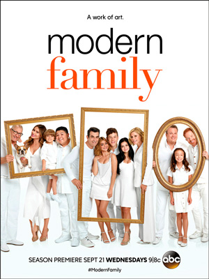 Modern Family season 8 poster ABC channel
