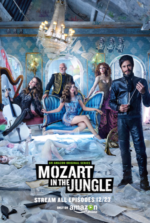 Mozart in the Jungle season 1 poster Amazon channel