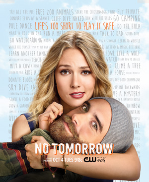 No Tomorrow season 1 key art The CW channel