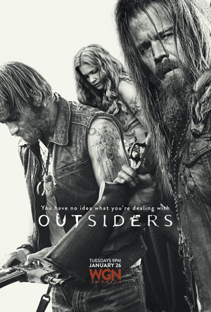 Outsiders season 1 poster WGN America channel