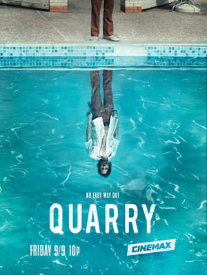 Quarry season 1 poster Cinemax channel