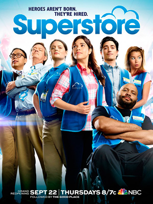 Superstore season 2 poster NBC channel