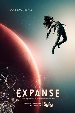 The Expanse season 1 poster SyFy channel