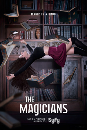 The Magicians season 1 poster SyFy channel