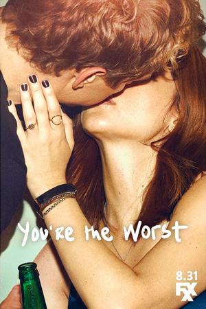 Youre the Worst season 3 poster FX channel