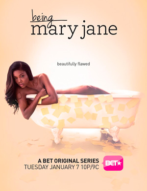 Being Mary Jane season 1 poster BET channel