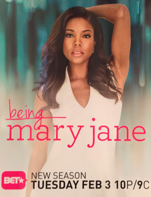 Being Mary Jane season 2 poster BET channel