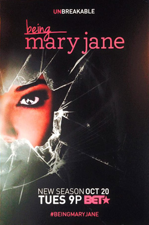 Being Mary Jane season 3 poster BET channel