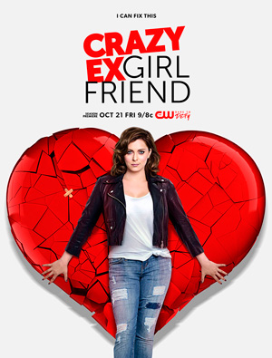 Crazy Ex-Girlfriend season 2 poster The CW channel