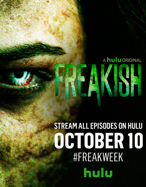 Freakish season 1 poster Hulu channel