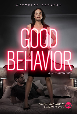 Good Behavior season 1 key art TNT channel
