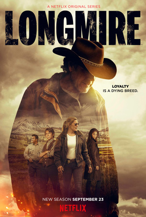 Longmire season 5 poster Netflix channel