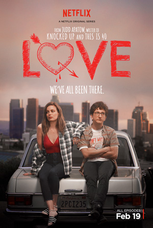 Love season 1 poster Netflix channel