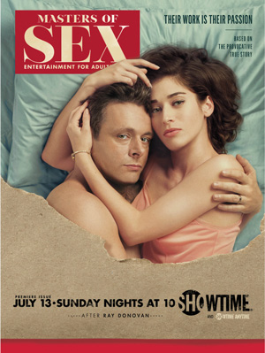 Masters of Sex season 2 poster Showtime channel