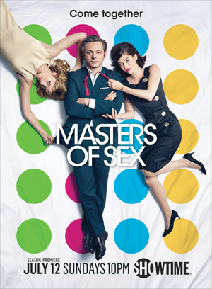 Masters of Sex season 3 poster Showtime channel