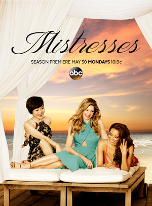 Mistresses poster season 4 ABC channel