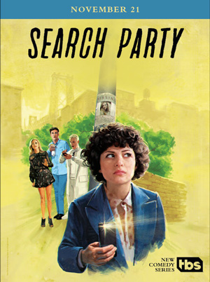 Search Party season 1 poster TBS channel
