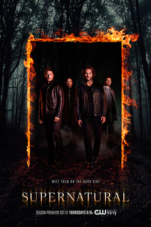 Supernatural season 12 poster The CW channel