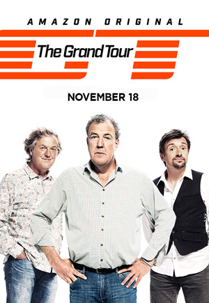 The Grand Tour season 1 poster Amazon channel