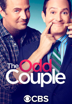 The Odd Couple season 3 poster CBS channel