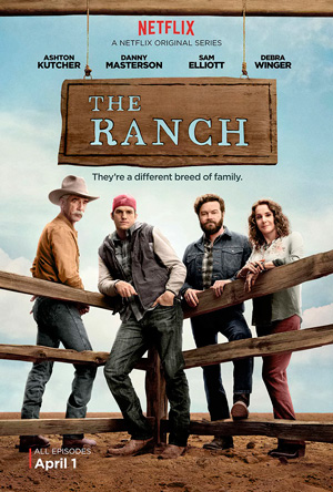 The Ranch season 1 poster Netflix channel