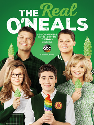 The Real O'Neals season 2 poster ABC channel