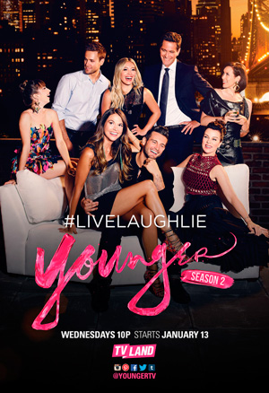 Younger season 2 poster TV Land channel
