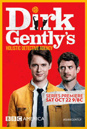 Dirk Gently's Holistic Detective Agency season 1 poster BBC America channel