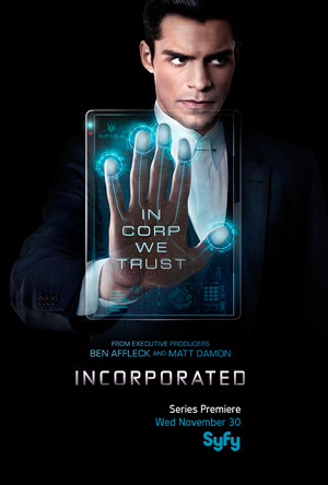 Incorporated poster season 1 Syfy channel
